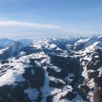 Ballonvaart in de Alpen