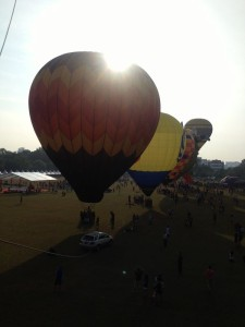 First Penang Hot Air Balloon Fiesta 2015